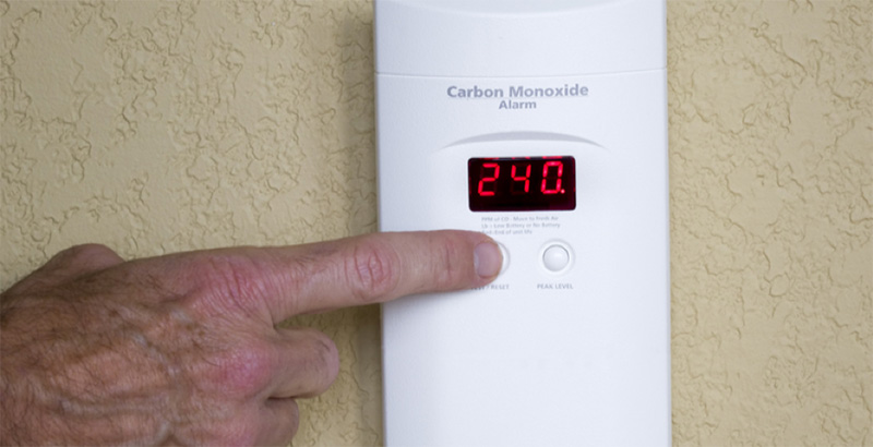Average Level of Carbon Monoxide in Homes