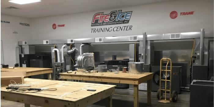 Fire & Ice's HVAC Training Center